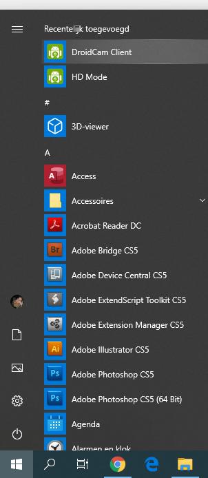 Open DroidCam Client op computer | Inpa Computers