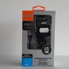DLH USB type-c AC adapter