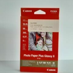 Canon Pixma PP-201 fotopapier - 50 vellen - 10x15