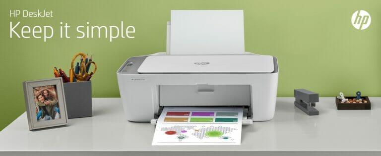 HP Deskjet 2724: Snel en eenvoudig printen, kopiëren & scannen